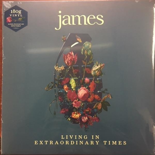 JAMES Living In Extraordinary Times 2LP