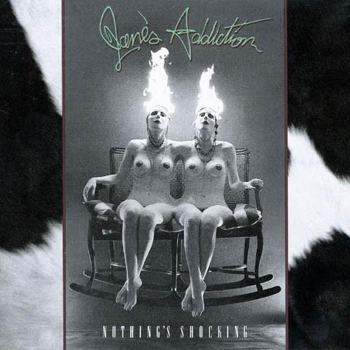 JANE'S ADDICTION Nothing's Shocking LP
