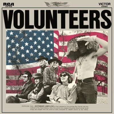 JEFFERSON AIRPLANE Volunteers LP