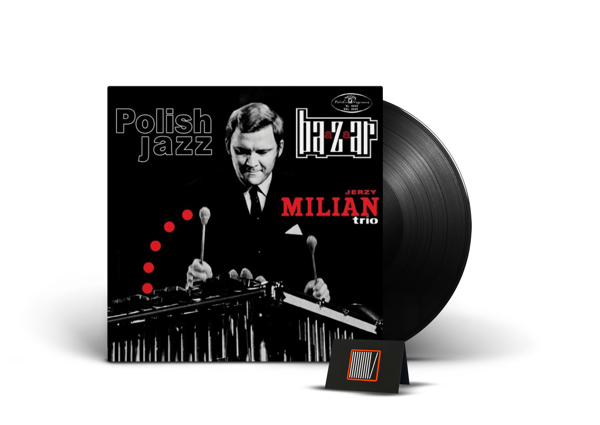 JERZY MILIAN TRIO Baazaar (POLISH Jazz) LP