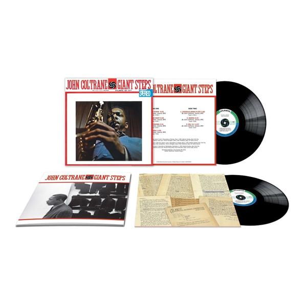 JOHN COLTRANE Giant Steps 2LP 60th Anniversary Deluxe Edition