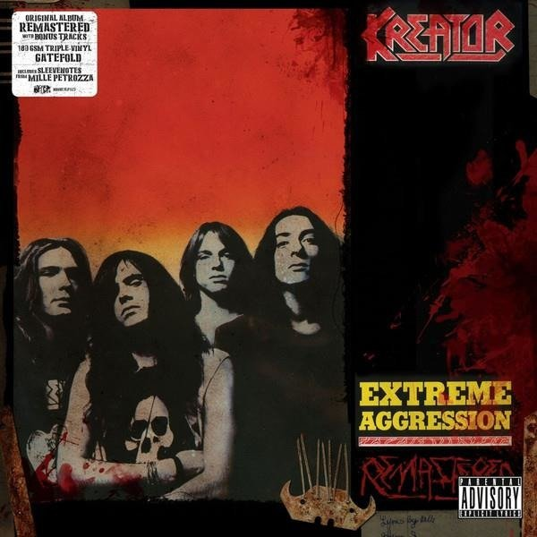 KREATOR Extreme Aggression 3LP