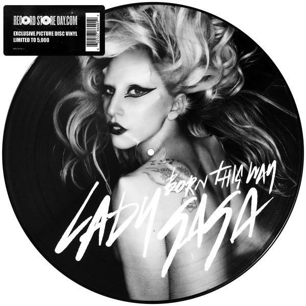 LADY GAGA Born This Way VINYL SINGLE
