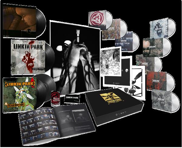 LINKIN PARK Hybrid Theory (Super Deluxe Box) 5CD + 4LP + MC + BOOK + 3DVD