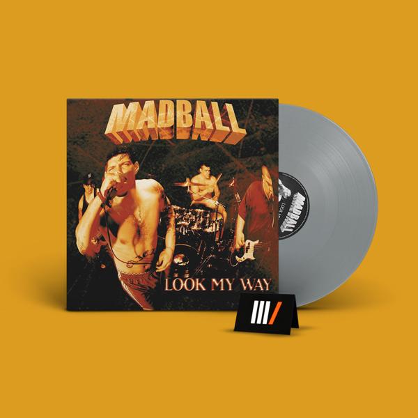 MADBALL Look My Way LP SILVER