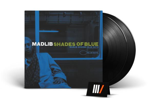 MADLIB Shades of Blue 2LP