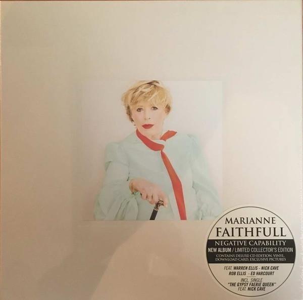 MARIANNE FAITHFULL Negative Capability LP+CD