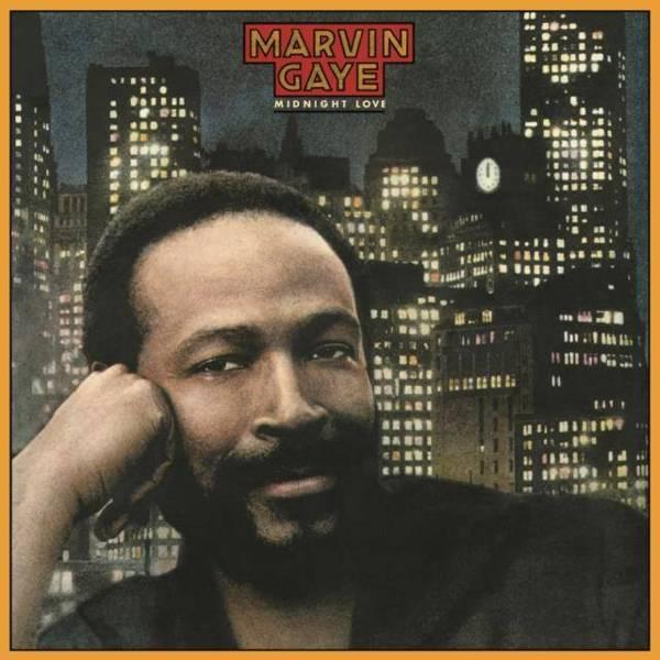 MARVIN GAYE Midnight Love LP