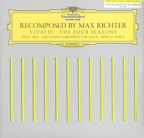 MAX RICHTER Recomposed By Max Richter: Vivaldi The Four Seasons  2LP