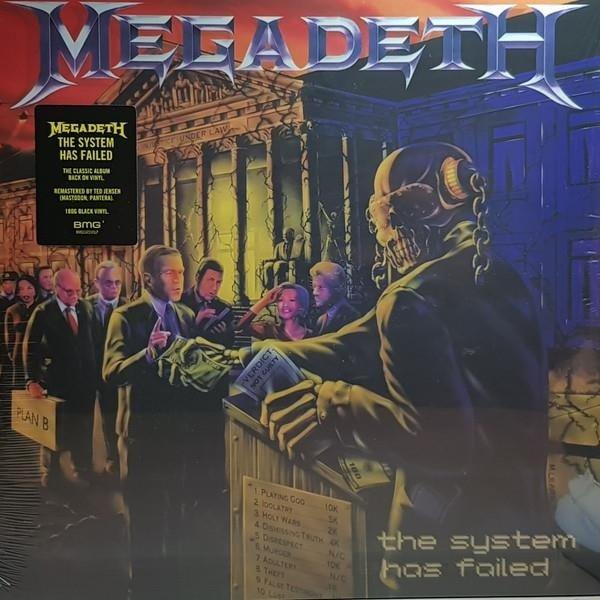 MEGADETH The System Has Failed LP