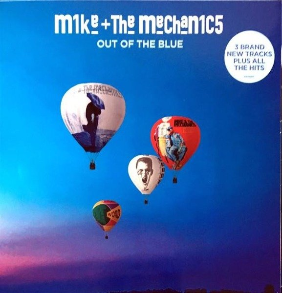 MIKE AND THE MECHANICS Out Of The Blue (DELUXE) LP