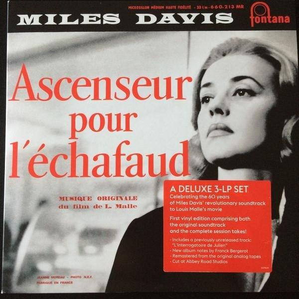 MILES DAVIS Ascenseur Pour L'echafaud 3LP