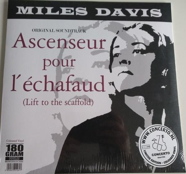 MILES DAVIS Ascenseur Pour L'echafaud LP