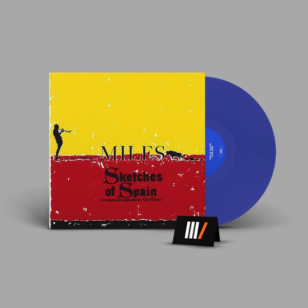 MILES DAVIS Sketches Of Spain LP BLUE