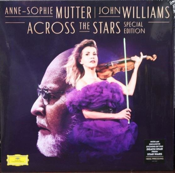 MUTTER, ANNE-SOPHIE & WILLIAMS JOHN Accross The Stars (DELUXE Ltd Edition) LP