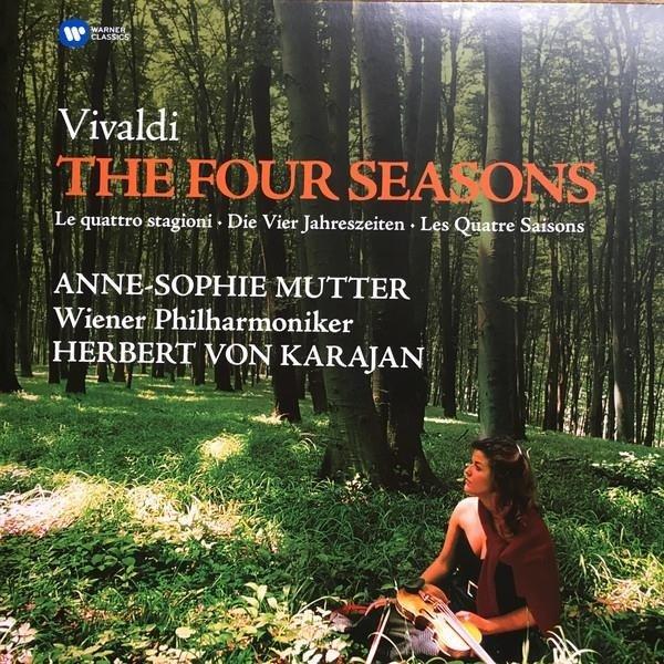 MUTTER/KARAJAN/WIENER PHILHARMONIKER Vivaldi: Four Seasons LP