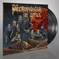 NECROPHAGIA Here Lies Necrophagia, 35 Years Of Death Metal 2LP
