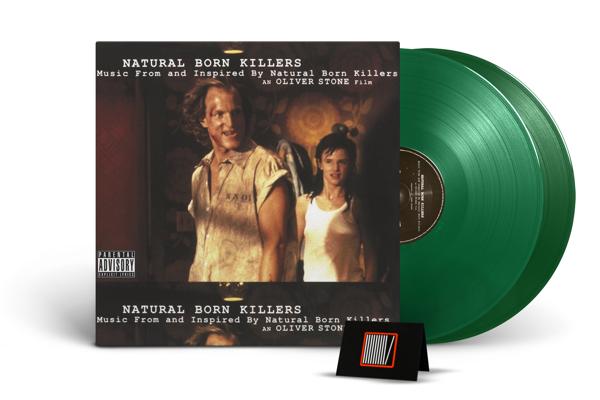 OST Natural Born Killers 2LP GREEN