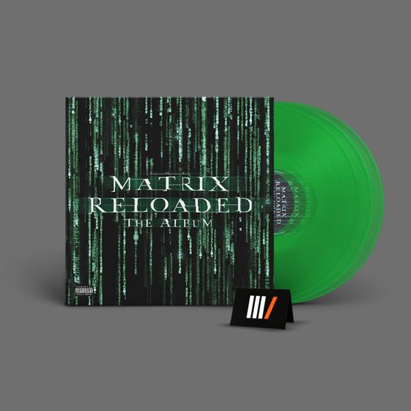 OST The Matrix Reloaded 3LP GREEN RSD