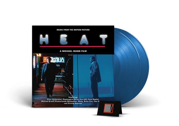 OST / VARIOUS Heat  (BLUE Vinyl Album) 2LP