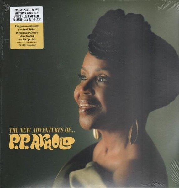 P.P. ARNOLD The New Adventures Of P.P. Arnold LP