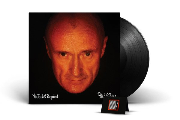 PHIL COLLINS No Jacket Required (DELUXE Edition) LP