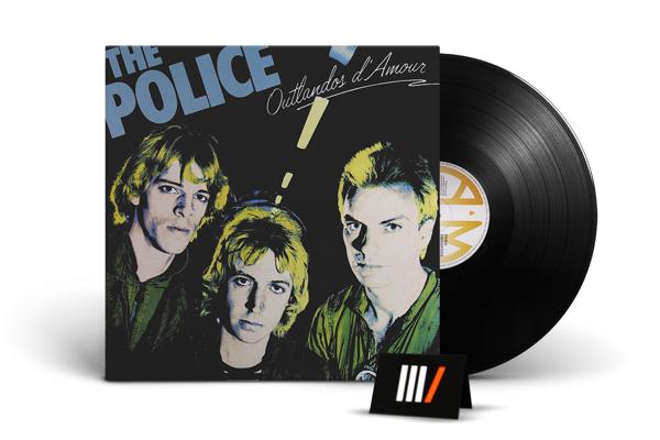 POLICE Outlandos D'amour LP