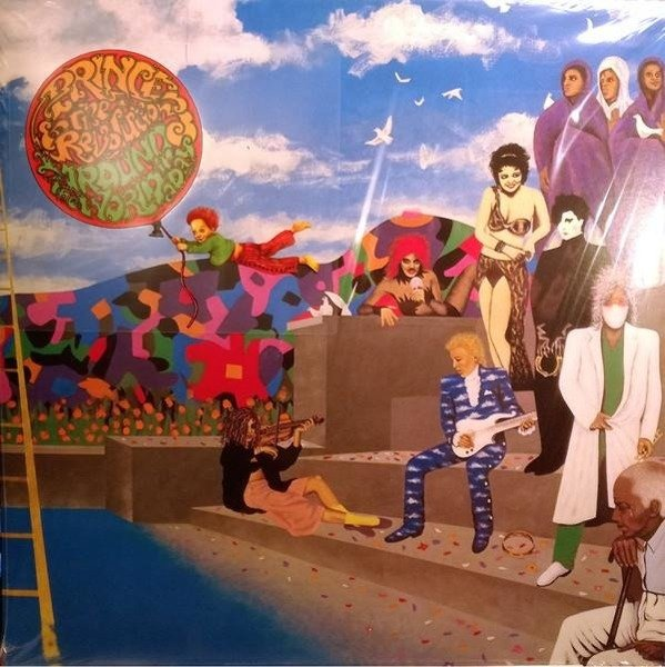PRINCE Around The World In A Day LP