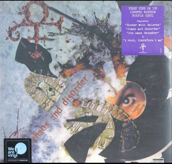 PRINCE Chaos And Disorder LP