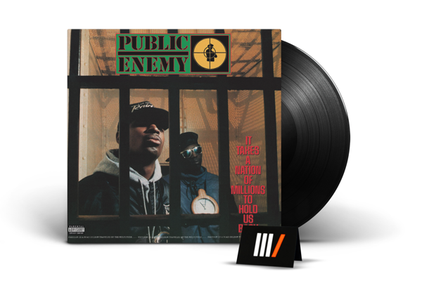 PUBLIC ENEMY It Takes A Nation Of Millions To Hold Us Back LTD LP