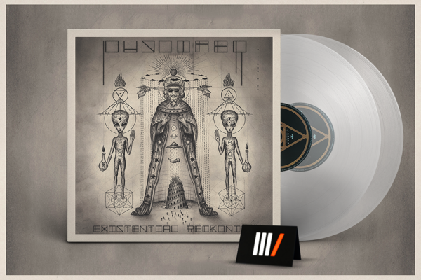 PUSCIFER Existential Reckoning 2LP CLEAR