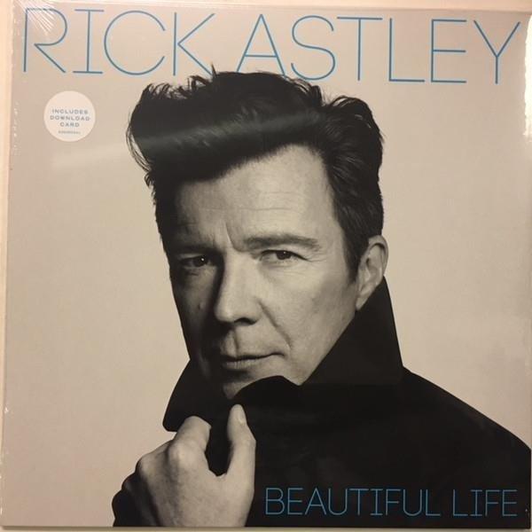 RICK ASTLEY Beautiful Life LP