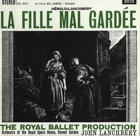 ROHO/LANCHBERRY Herold-Lanchbery La Fille Mal Gardee LP