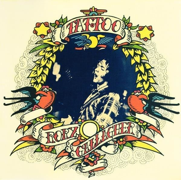 RORY GALLAGHER Tattoo LP