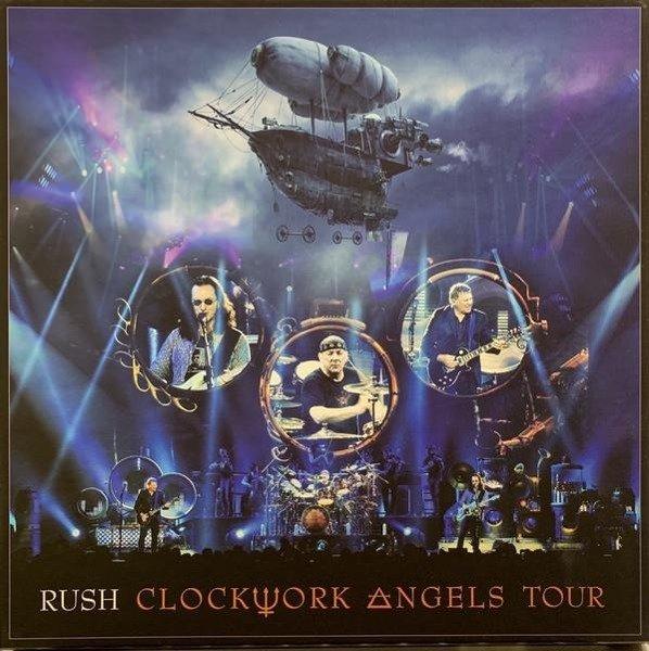 RUSH Clockwork Angels Tour 5LP