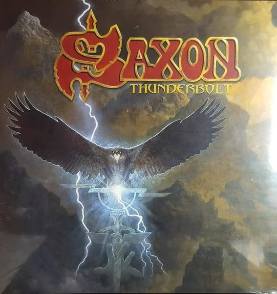 SAXON Thunderbolt LP+CD+MC