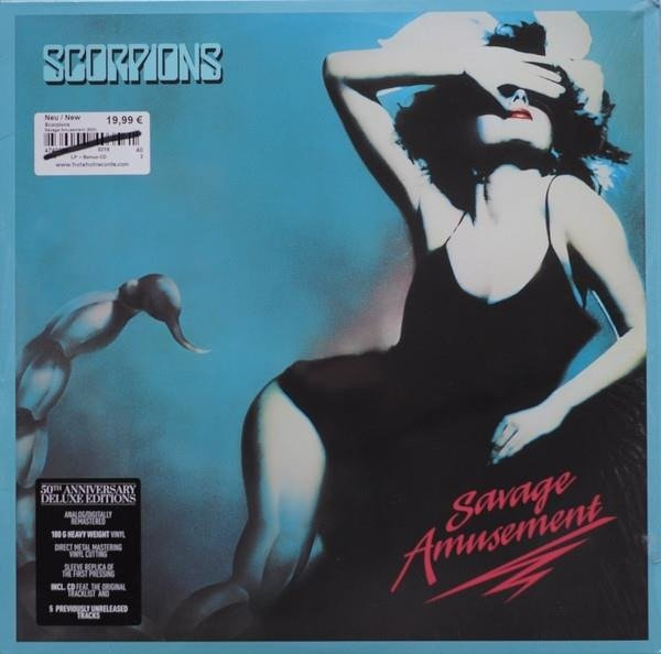 SCORPIONS Savage Amusement LP+CD