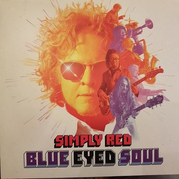 SIMPLY RED Blue Eyed Soul (PURPLE) LP
