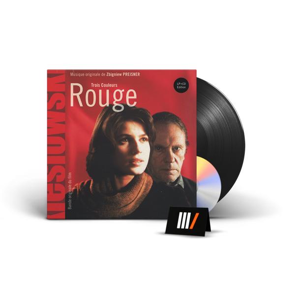 SOUNDTRACK 3 Colours: Rouge LP+CD