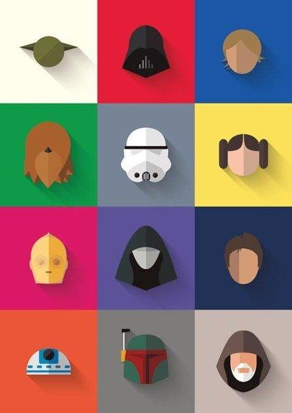 Star Wars - Icon Set PLAKAT