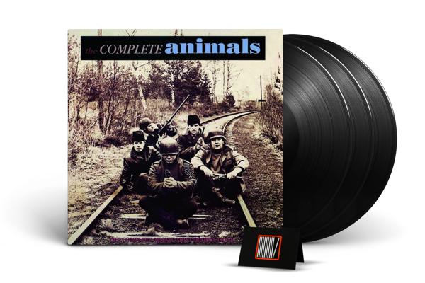 THE ANIMALS Complete Animals 3LP