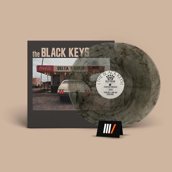 THE BLACK KEYS Delta Kream 2LP SMOKE