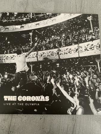 THE CORONAS Live At The Olympia 2LP
