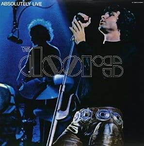 THE DOORS Absolutely Live 2LP