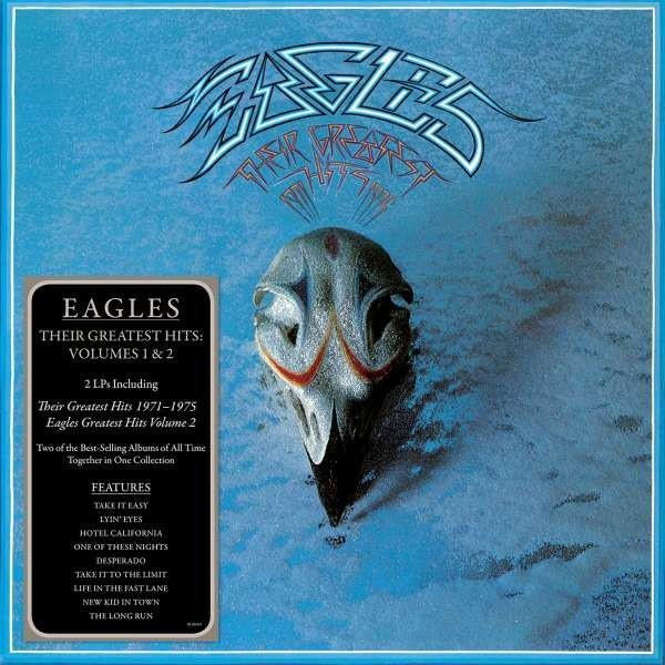 THE EAGLES Their Greatest Hits Volumes 1 & 2 2LP