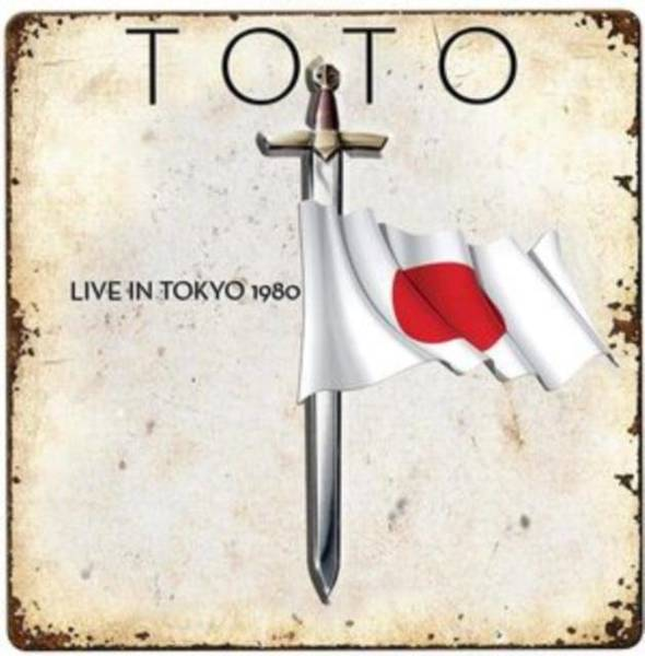 TOTO Live In Tokyo 1980 (Red Vinyl) (RSD 2020) LP