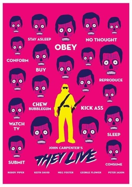 They Live PLAKAT