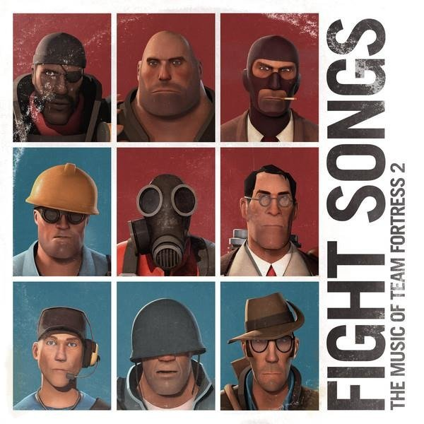 VALVE STUDIO ORCHESTRA Fight Songs The Music Of Team Fortress 2 2LP