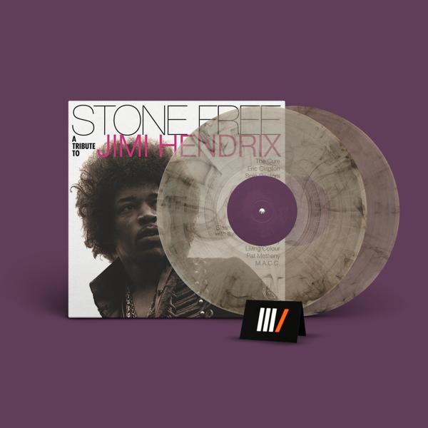VARIOUS ARTISTS Stone Free: Jimi Hendrix Tribute RSD 2LP CLEAR/BLACK