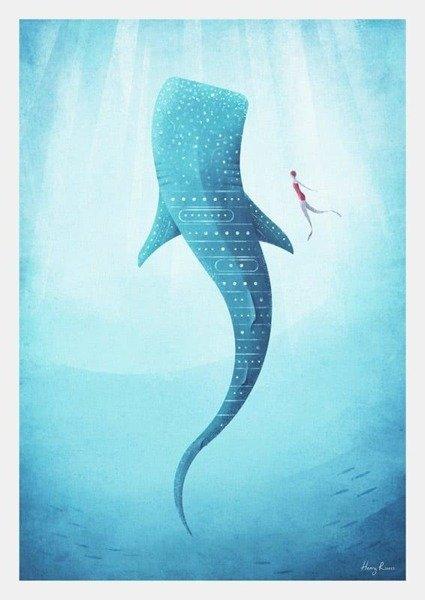 Whale Shark PLAKAT